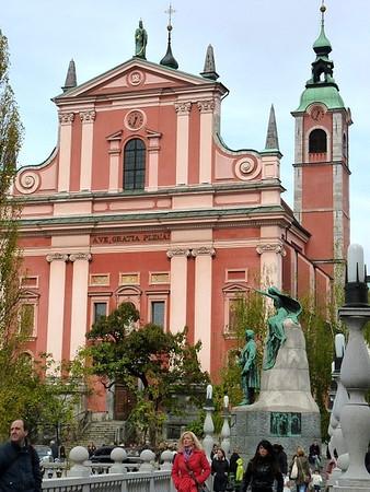 Preseren Square, Ljubljana
