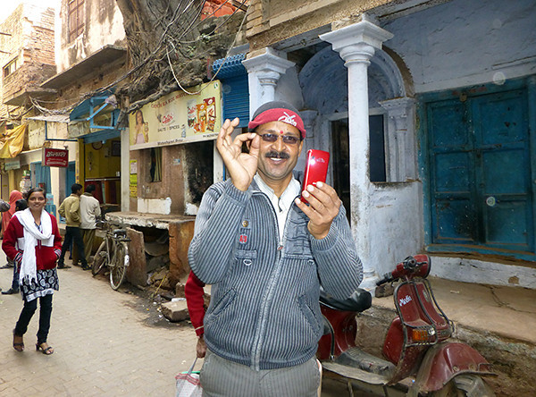 Man in Old City (Varanasi)