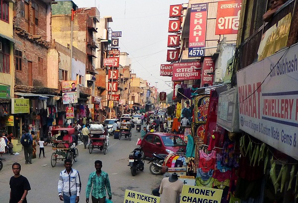 The Main Bazaar of Pahar Ganj