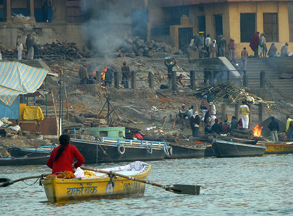 Burning Ghat in Varanasi