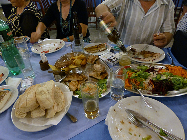Feast in Skopje, Macedonia