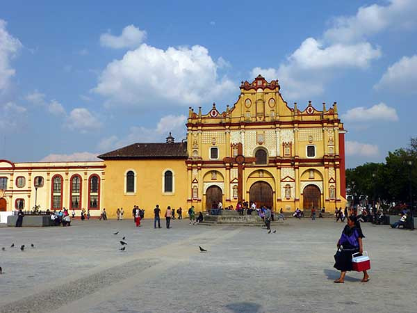 Cathedral in San Cristobal de las Casas