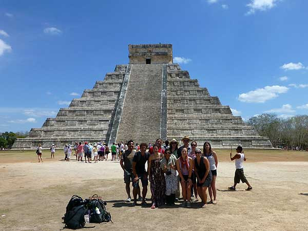 Chichen-itza Mayan ruins, Mexico