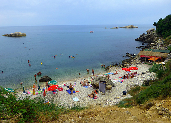 Liman Beach, Ulcinj, Montenegro