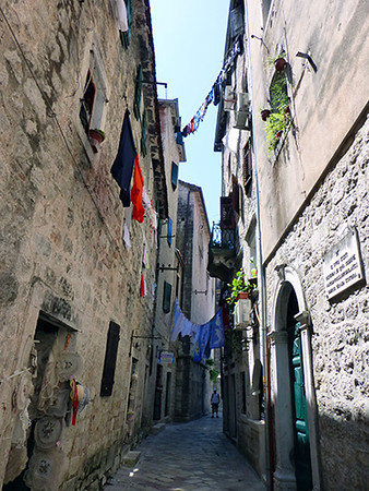 Street of Kotor, Montenegro