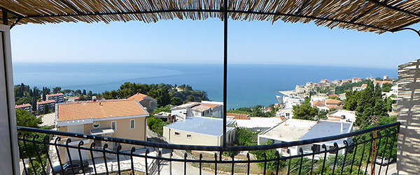 Apartment View in Ulcinj