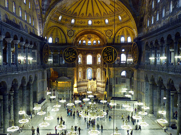 Hagia Sophia interior (Istanbul)