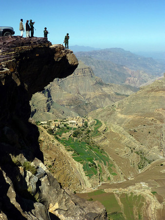 View from Bokur, Yemen