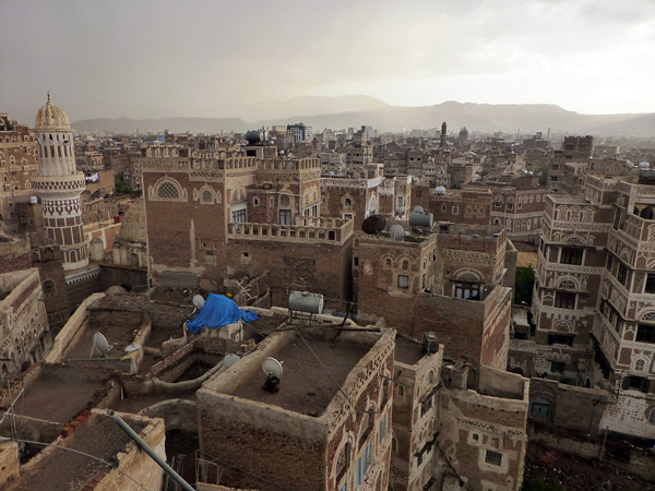 Dawood Hotel, Sanaa, Yemen (roof view 3)
