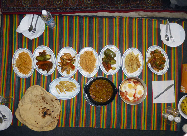 Lunch in Yemen