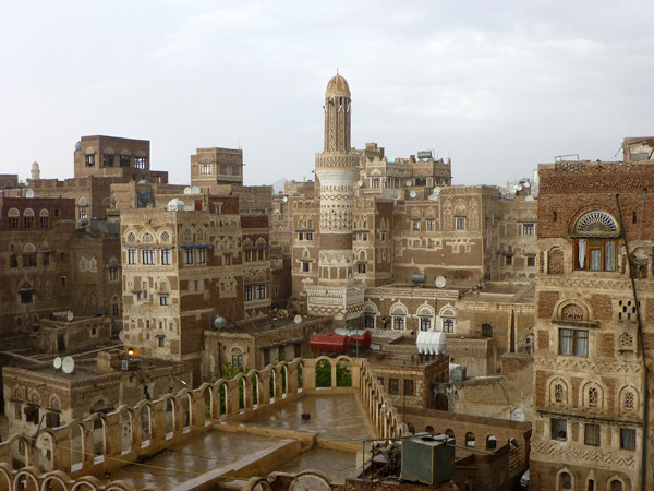 Dawood Hotel, Sanaa, Yemen (roof view 2)