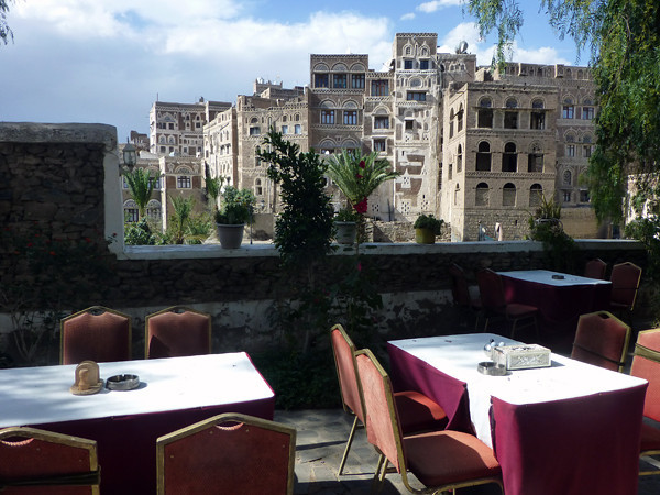 Dawood Hotel, Sanaa, Yemen (terrace)
