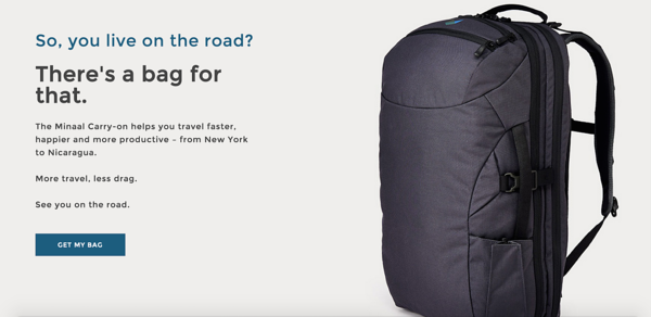 Minaal Carry-on Backpack