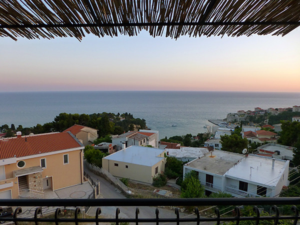 Balcony View in Ulcinj (Montenegro)