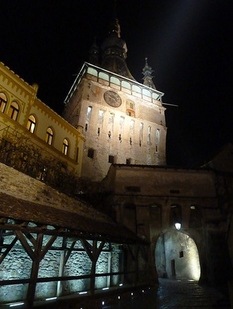 Halloween In Transylvania - Clock Tower in Sighisoara
