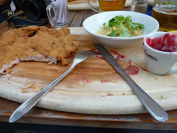 Largest Wiener Schnitzel in the world