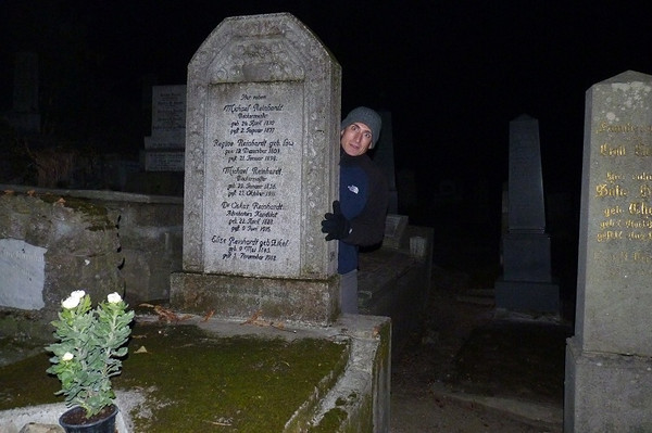 Halloween In Transylvania - Graveyard in Sighisoara 2