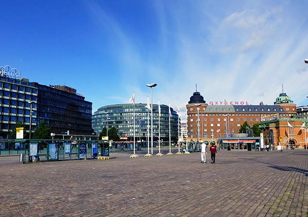 Hakaniemi Market Square, Helsinki