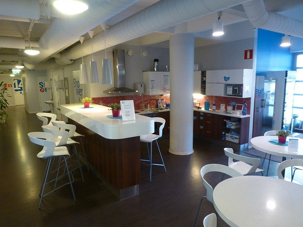 Dream Hostel, Tampere (common room)