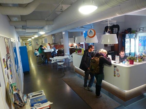 Dream Hostel, Tampere (reception)