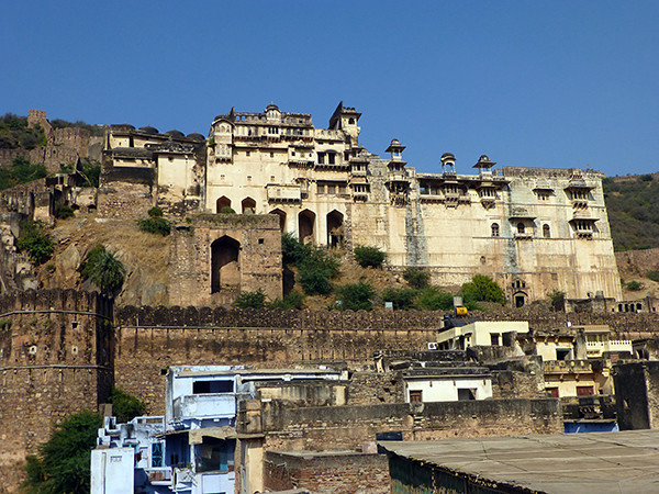 Palace in Bundi, India