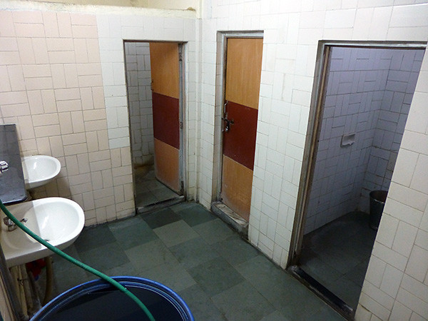 Toilets at Sheel Hotel