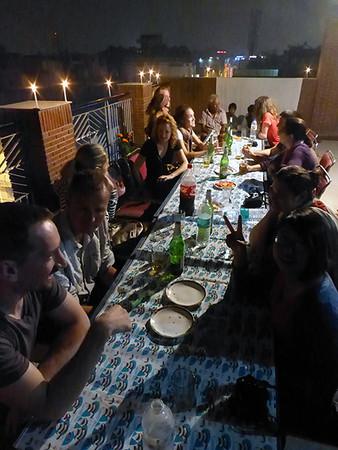 Dinner in Delhi