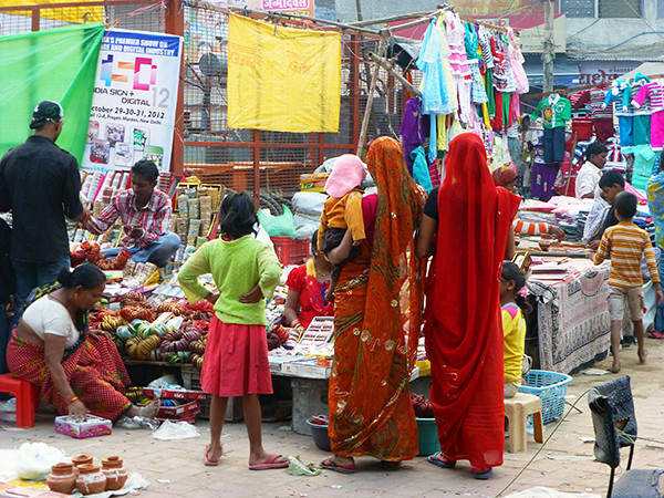 Incredible India - Sabzi Market, Pahar Ganj