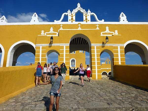 Monastery in Izamal, Mexico