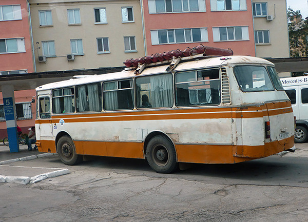 Bus in Transnistria
