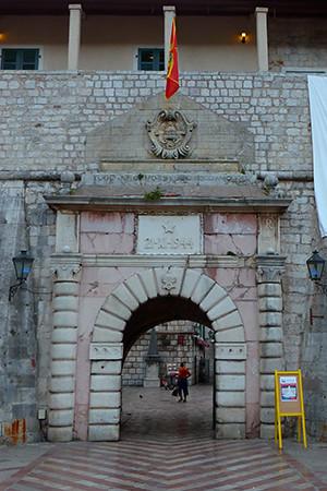 Gate to Kotor, Montenegro