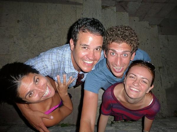 Friends in Kotor, Montenegro
