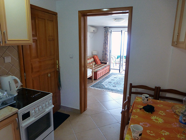 Renting A Short-Term Apartment Kitchen in Ulcinj