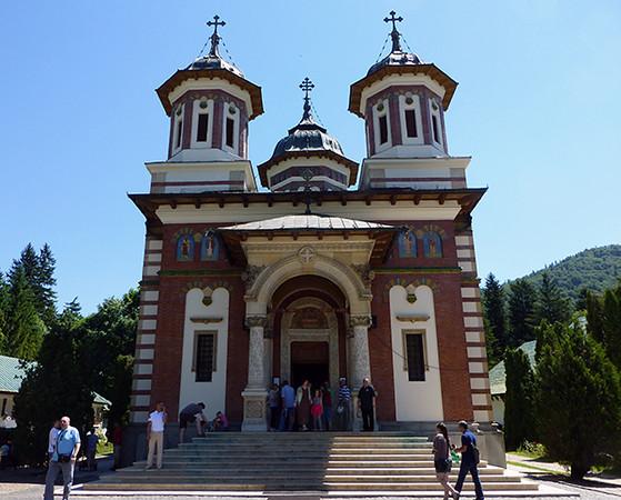 The Great Church, Sinaia Monastery, Romania