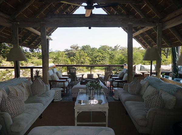 Lounge Area of Thornybush Lodge