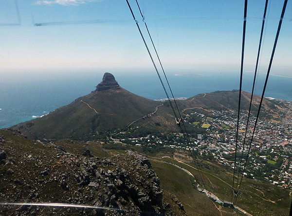View of Cape Town from Cable Car