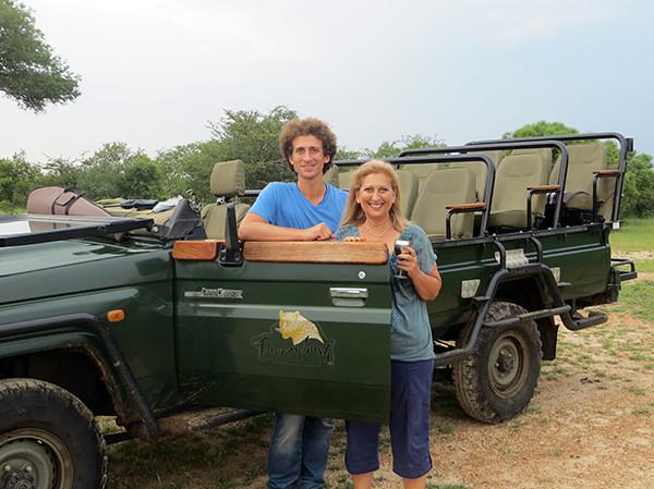 Derek & Sue on Safari