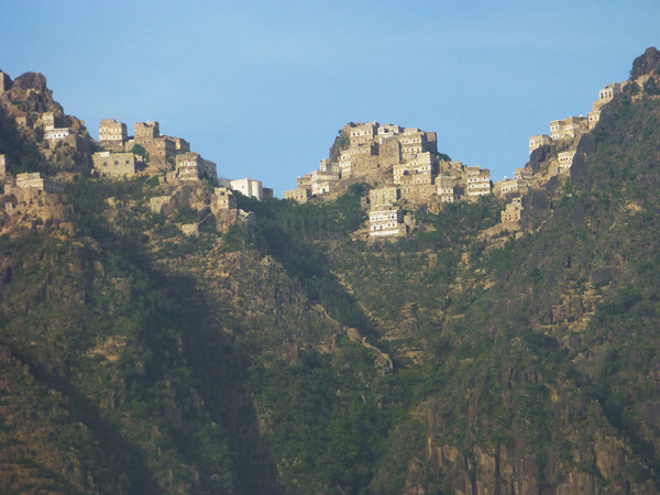 Burra Mountain villages, Yemen