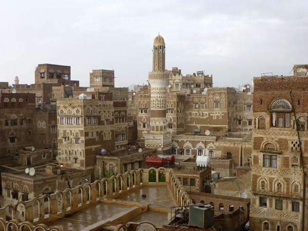 Dawood Hotel, Sanaa, Yemen (roof view 2)