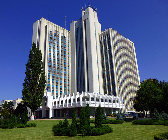 Building in Chisinau