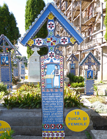 Merry Cemetery, Maramures - Tuica