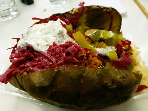 Kumpir potatoes - Istanbul