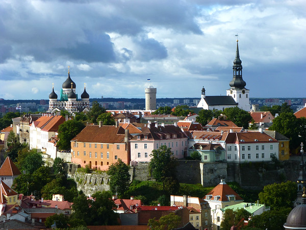 Tallinn Old City view