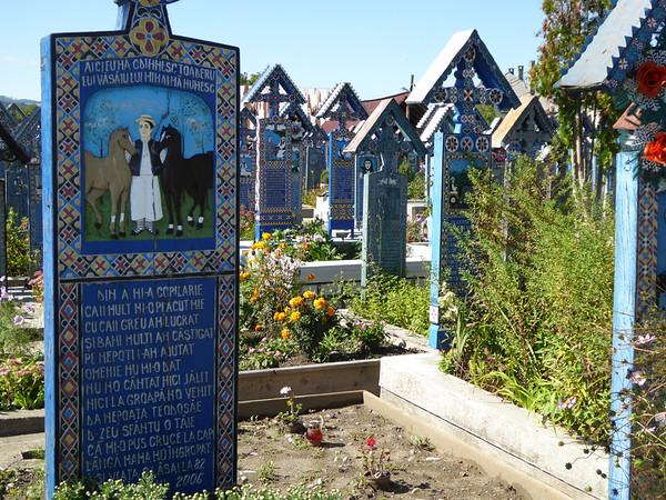Merry Cemetery, Maramures - Horses