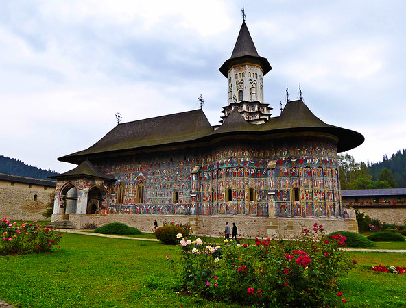Sucevita Painted Monastery, Bucovina