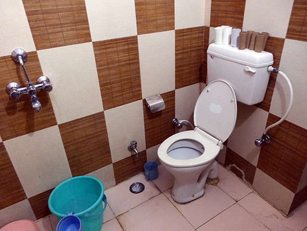 Toilet in Agra