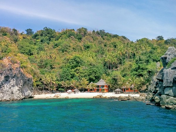 short break on Apo Island, Philippines