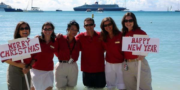 Cruise Ship in St. Maarten