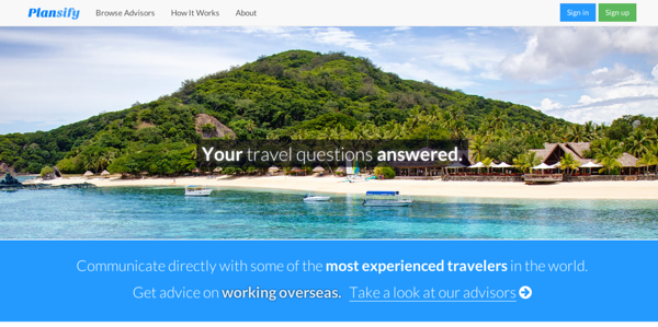 Plansify Travel Advice